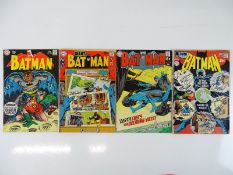 BATMAN #209, 218, 219, 223 - (4 in Lot) - (1969/70 - DC - US PRICE & UK Cover Price) - Flat/