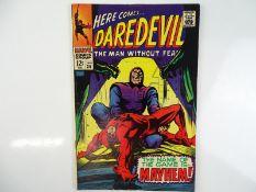 DAREDEVIL #36 - (1968 - MARVEL) - Daredevil battles the Trapster + Doctor Doom, Human Torch,