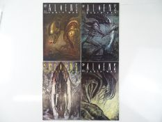 ALIENS: EARTH WAR #1, 2, 3, 4 - (4 in Lot) - (1990 - DARK HORSE) - ALL First Printings - Complete
