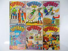 SUPERBOY #120, 121, 127, 128, 133, 134 - (6 in Lot) - (1965/66 - DC - US Price & UK Cover Price) -