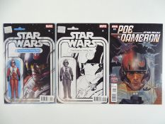 STAR WARS: POE DAMERON: X-WING PILOT #1 - (3 in Lot) - (2016 - MARVEL) - First Printings - Exclusive