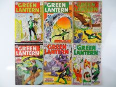 GREEN LANTERN #27, 28, 30, 32, 34, 35 - (6 in Lot) - (1964/65 - DC - UK Cover Price & US Price) -