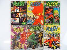 FLASH #173, 177, 179, 181, 183, 185 - (6 in Lot) - (1967/69 - DC - US Price & UK Cover Price) -