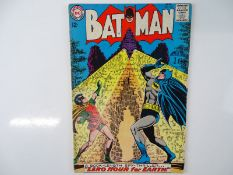 BATMAN #167 - (1964 - DC - UK Cover Price) - Carmine Infantino and Murphy Anderson cover - Flat/