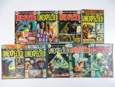UNEXPECTED #145, 148, 152, 157, 159, 161, 166, 197, 221 - (9 in Lot) - (1973/82 - DC - US Price & UK