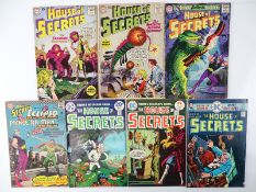 HOUSE OF SECRETS #36, 38, 73, 79, 119, 133, 135 - (7 in Lot) - (1960/75 - DC - UK Cover Price & US