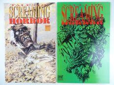 TALES OF SCREAMING HORROR #1 & VAULT OF SCREAMING HORROR #1 - (2 in Lot) - (1992/93 - FANTACO) -