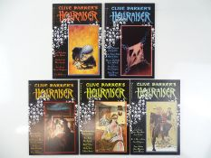 HELLRAISER #1, 2, 3, 4, 5 - (5 in Lot) - (1989/90 - EPIC/MARVEL) - All FIRST Prints - Flat/Unfolded