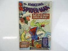 AMAZING SPIDER-MAN #24 - (1965 - MARVEL - UK Cover Price) - Mysterio appearance - Steve Ditko