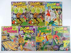 DOOM PATROL #91, 92, 94, 96, 97, 98 - (7 in Lot) - (1964/65 - DC - US Price & UK Cover Price) -