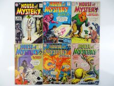 HOUSE OF MYSTERY #93, 105, 109, 124, 131, 133 - (6 in Lot) - (1959/63 - DC - US Price & UK Cover