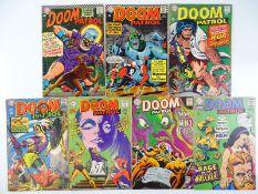 DOOM PATROL #105, 109, 114, 116, 118, 119, 120 - (7 in Lot) - (1966/68 - DC - UK Cover Price) -