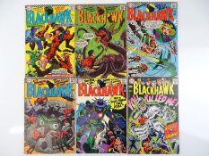 BLACKHAWK #223, 224, 225, 226, 236, 237 - (6 in Lot) - (1966/67 - DC - US Price & UK Cover