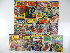 GHOST RIDER LOT - (13 in Lot) - (MARVEL - UK Price Variant & US Price) - Includes GHOST RIDER (1967)