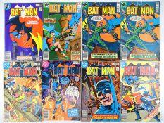 BATMAN #315, 316, 317, 318, 319, 320, 322 - (8 in Lot) - (1979/80 - DC - US Price & UK Price