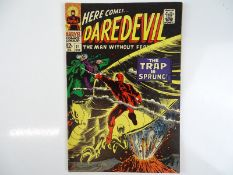DAREDEVIL #21 - (1966 - MARVEL) - Daredevil versus the Owl - Gene Colan cover and interior art -