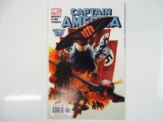 CAPTAIN AMERICA #6 - (2005 - MARVEL) - Modern KEY BOOK - First full appearance of Bucky Barnes as