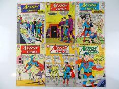ACTION COMICS: SUPERMAN #318, 319, 320, 321, 322, 325 - (6 in Lot) - (1964/65 - DC - US Price & UK