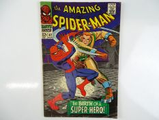 AMAZING SPIDER-MAN #42 - (1966 - MARVEL) - Mary Jane Watson's face shown for first time in