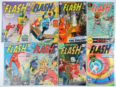FLASH #146, 148, 194, 202, 245, 263, 274, 286 - (8 in Lot) - (1964/80 - DC - US PRICE, UK Cover
