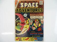 SPACE ADVENTURES #35 - (1960 - CHARLTON) - Captain Atom appearance - Steve Ditko artwork - Flat/