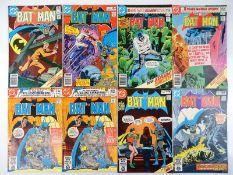 BATMAN #325, 326, 327, 328, 329, 330, 331 - (8 in Lot) - (1980/81 - DC - US Price & UK Price