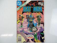 BATMAN #321 - (1980 - DC - UK Cover Price) - Joker cover and story - Walt Simonson interior art -