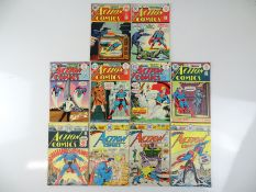 ACTION COMICS: SUPERMAN #442, 444, 445, 446, 447, 448, 450, 454, 455, 456 - (10 in Lot) - (1974/