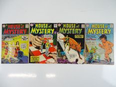 HOUSE OF MYSTERY #76, 77, 95, 143 - (4 in Lot) - (1958/64 - DC - US Price & UK Cover Price) -