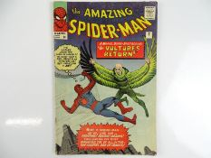 AMAZING SPIDER-MAN #7 - (1963 - MARVEL - UK Price Variant) - Second appearance of the Vulture -
