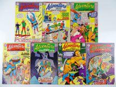 ADVENTURE COMICS #355, 356, 359, 360, 361, 362, 363 - (8 in Lot) - (1967 - DC - US PRICE & UK