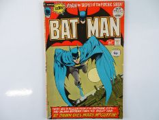 BATMAN #241 - (1972 - DC - UK Cover Price) - Classic Neal Adams Batman cover with inks by Bernie