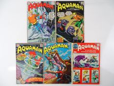 AQUAMAN #15, 20, 26, 47 + SUPER DC GIANT-SIZE - (5 in Lot) - (1964/71- DC - US Price & UK Cover