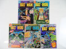 BATMAN #291, 295, 303, 305, 307 - (5 in Lot) - (1977/79 - DC - US Price, UK Price Variant & UK Cover
