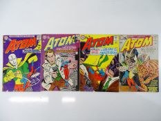 ATOM #13, 15, 20, 21 - (4 in Lot) - (1964/65 - DC - US Price & UK Cover Price) - Flat/Unfolded