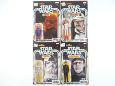 STAR WARS #35, 37, 38, 39 - (4 in Lot) - UGNAUGHT, REBEL COMMANDER, AT-AT DRIVER, IMPERIAL COMMANDER