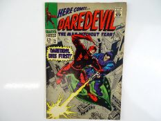 DAREDEVIL #35 - (1967 - MARVEL) - Invisible Girl, Trapster appearances - Gene Colan cover and
