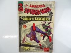 AMAZING SPIDER-MAN #23 - (1965 - MARVEL - UK Cover Price) - Third appearance of the Green Goblin +