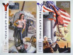 Y - THE LAST MAN #2 & 3 (2 in Lot) - (2002 - DC/VERTIGO) - First Printings - Flat/Unfolded - a