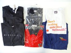 MCDONALDS: A group of t-shirts, a crew shirt and a cagoule (8)