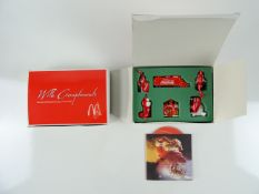 COCA-COLA: Two boxes of 'With Compliments from the McDonald's Group at Coca-Cola' Christmas