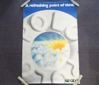 POLO: 'A refreshing point of view' (101cm x 152cm) advertising poster - rolled