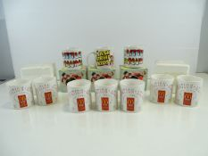 A large selection of boxed and unboxed MCDONALDS mugs - Destination Atlanta 1999 Service Competition
