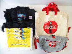 A quantity of MCDONALDS and COCA-COLA bags (Q)