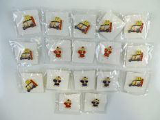 A group of MCDONALDS THAILAND and MUAY THAI pins (17)