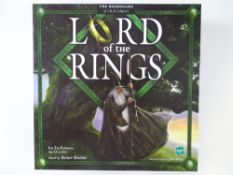 LORD OF THE RINGS - Limited edition 253/500 - Board Game - 22 carat gold plated ring with sterling