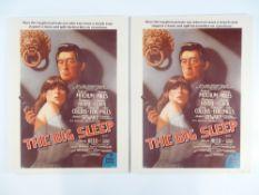 THE BIG SLEEP (1978) (Pair of 'Big Sleep' framed and glazed prints - (one of regular one sheet