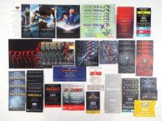 A large quantity (80+) premier / VIP / press screening tickets for SUPERHERO / COMIC BOOK
