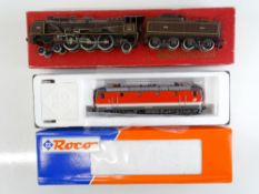 A part boxed RIVAROSSI French Outline Chapelon Pacific steam locomotive in Nord Brown Livery