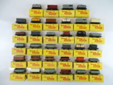 A large quantity of boxed TRI-ANG TT Gauge wagons - G in F/G boxes (34)